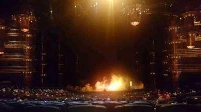 KÀ Theatre - MGM Grand, Abschnitt: 220, Reihe: mm, Platz: 28