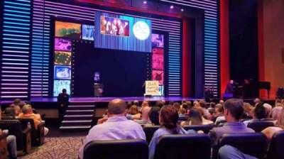 Penn & Teller Theater, Abschnitt: 2, Reihe: G, Platz: 17