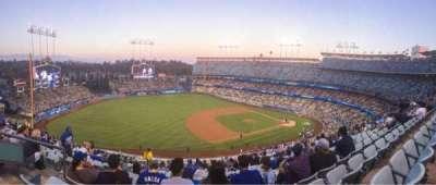 Dodger Stadium, Abschnitt: 27RS, Reihe: S, Platz: 20