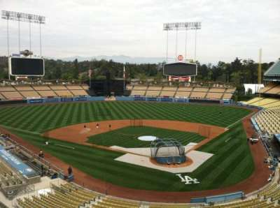 Dodger Stadium Abschnitt Vin Scully Press Box