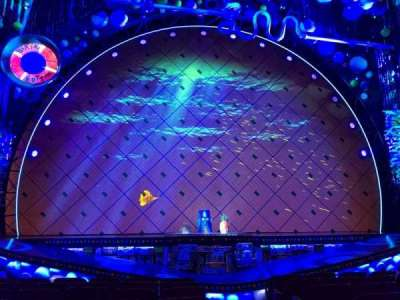 Palace Theatre (Broadway), Abschnitt: ORCC, Reihe: J, Platz: 101 And 10