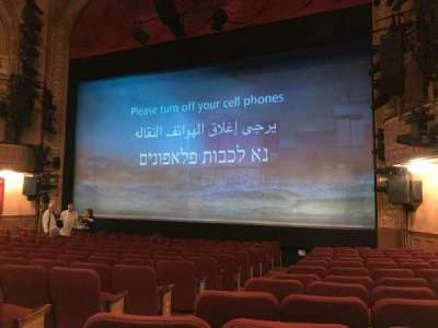 Ethel Barrymore Theatre, Abschnitt: ORCR, Reihe: M, Platz: 6 And 8
