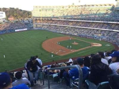 Dodger Stadium, Abschnitt: 35RS, Reihe: U, Platz: 1