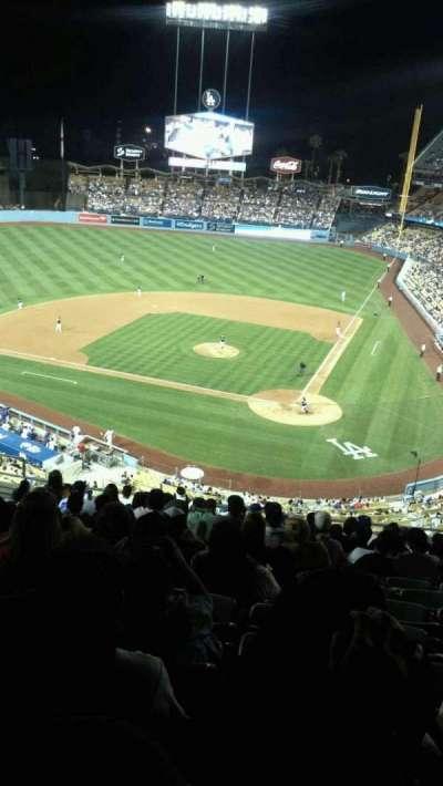 Dodger Stadium, Abschnitt: 7rs, Reihe: O, Platz: 12