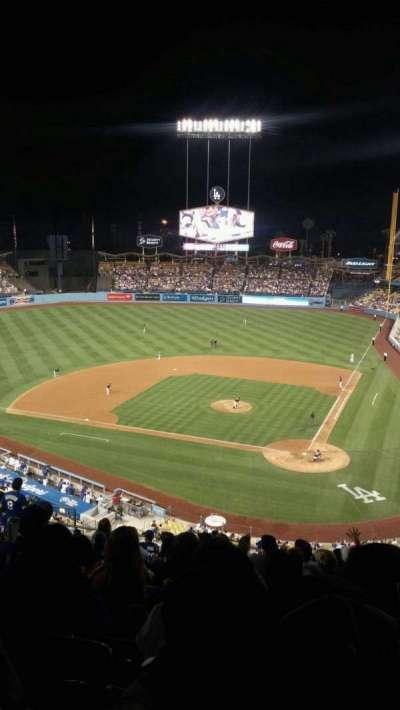 Dodger Stadium, Abschnitt: 7rs, Reihe: P, Platz: 12