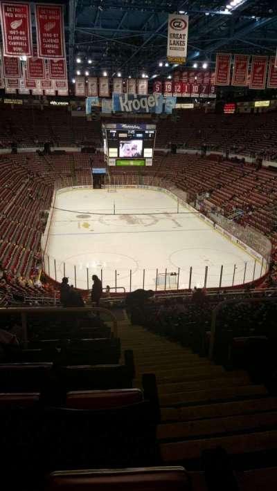 Joe Louis Arena, Abschnitt: 202A, Reihe: 17, Platz: 1