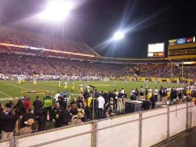 Sun Devil Stadium, Abschnitt: 9, Reihe: 4, Platz: 23