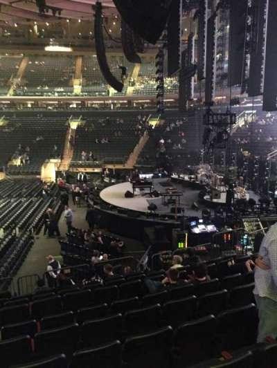 Madison Square Garden, Abschnitt: 109, Reihe: 12, Platz: 7