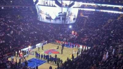 Madison Square Garden, Abschnitt: 419, Reihe: 3, Platz: 11