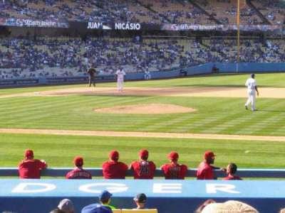 Dodger Stadium, Abschnitt: 20FD, Reihe: L, Platz: 4