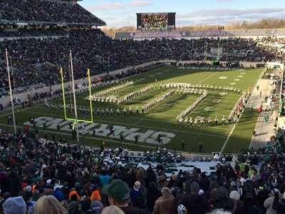 Spartan Stadium, Abschnitt: 14, Reihe: 56, Platz: 24