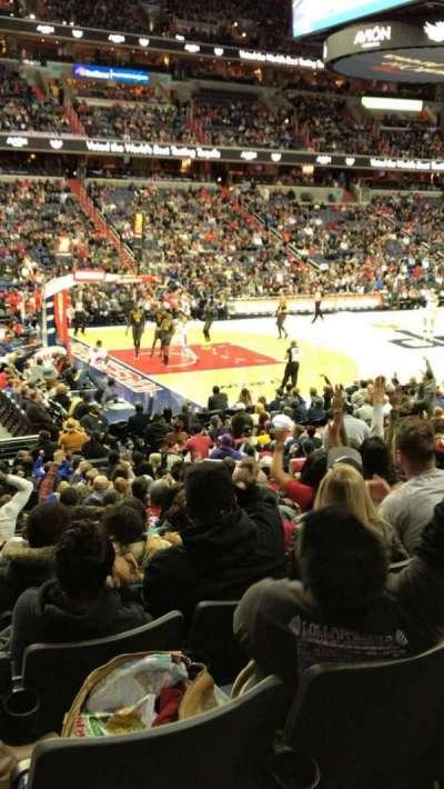 Capital One Arena, Abschnitt: 109, Reihe: Q, Platz: 11