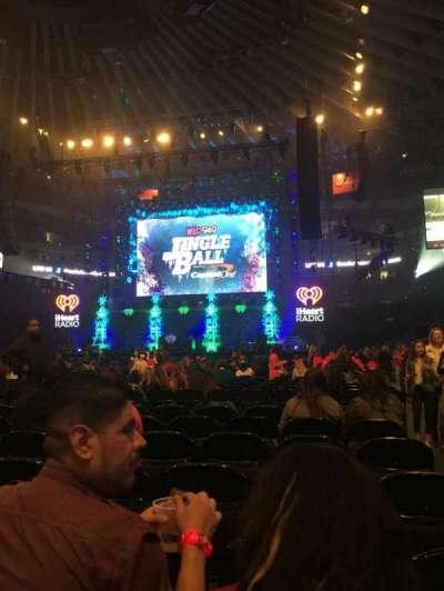 Oracle Arena, Abschnitt: D, Reihe: 7, Platz: 1