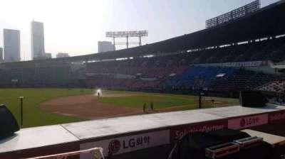 Jamsil Baseball Stadium, Abschnitt: 221, Reihe: 3, Platz: 22