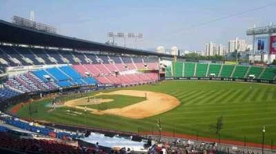 Jamsil Baseball Stadium, Abschnitt: 305, Reihe: 9, Platz: 83