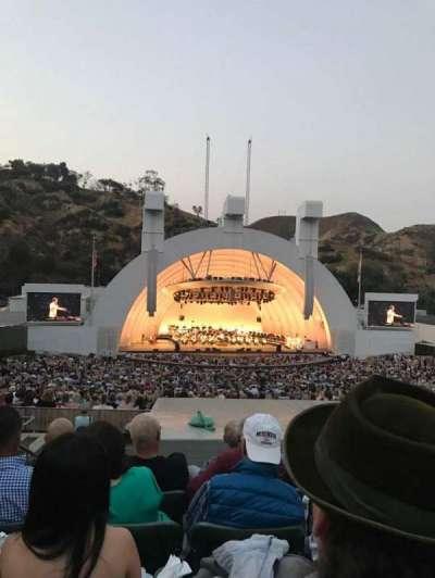 Hollywood Bowl, Abschnitt: J1, Reihe: 9, Platz: 4