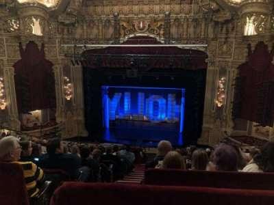 Oriental Theatre, Abschnitt: Balcrc, Reihe: M, Platz: 320