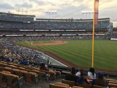 Dodger Stadium, Abschnitt: 164LG, Reihe: H, Platz: 3
