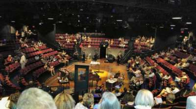 Circle in the Square Theatre, Abschnitt: Orchestra, Reihe: K