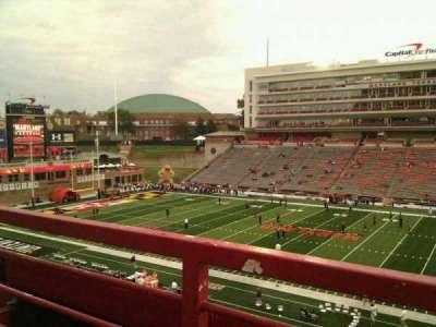 Maryland Stadium, Abschnitt: 207, Reihe: a, Platz: 17