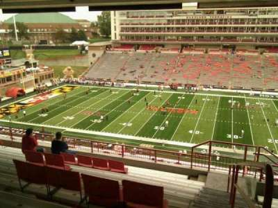 Maryland Stadium, Abschnitt: 207, Reihe: s, Platz: 25