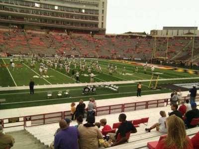 Maryland Stadium, Abschnitt: 5, Reihe: t, Platz: 29