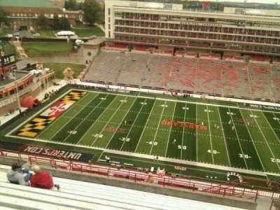 Maryland Stadium, Abschnitt: 306, Reihe: v, Platz: 17
