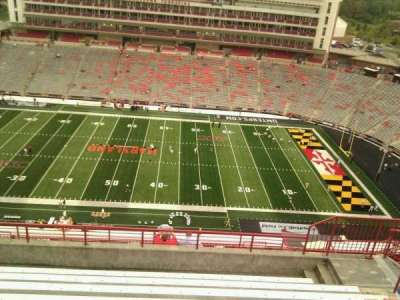 Maryland Stadium, Abschnitt: 307, Reihe: p, Platz: 17