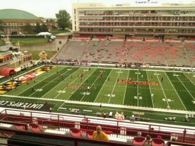Maryland Stadium, Abschnitt: 206, Reihe: o, Platz: 14