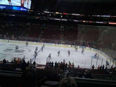 Wells Fargo Center Abschnitt CB2