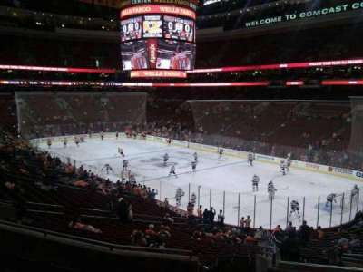 Wells Fargo Center Abschnitt CB4