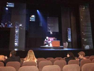 Music Box Theatre, Abschnitt: Orch Center, Reihe: G, Platz: 109