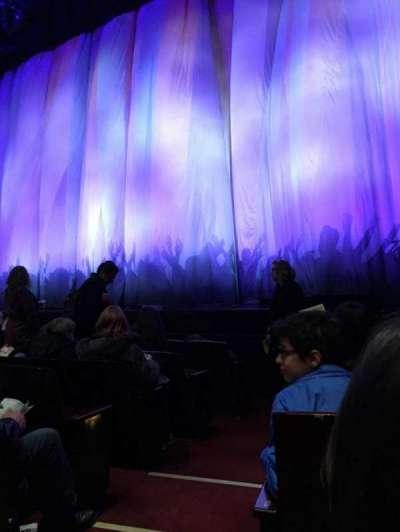 Marquis Theatre, Abschnitt: Orchestra, Reihe: E, Platz: 2
