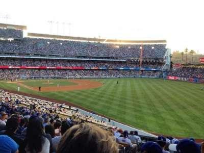 Dodger Stadium, Abschnitt: 162LG, Reihe: N, Platz: 2