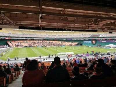 RFK Stadium, Abschnitt: 310, Reihe: 13, Platz: 18