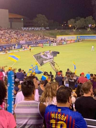 Cashman Field, Abschnitt: Spectator, Reihe: GA, Platz: GA