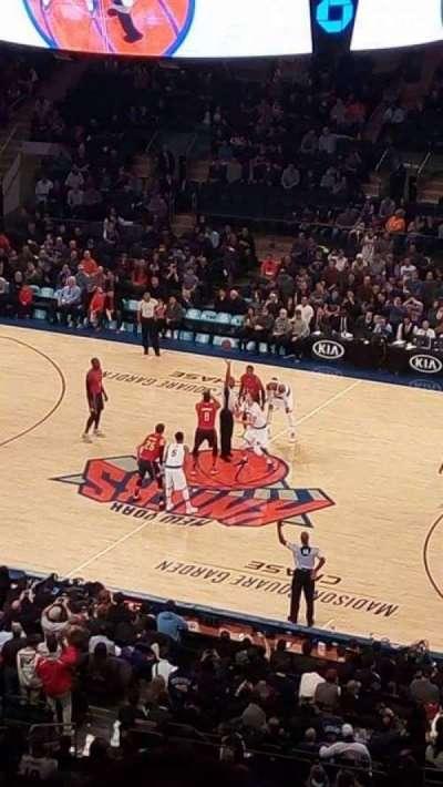 Madison Square Garden, Abschnitt: 213, Reihe: 14, Platz: 12