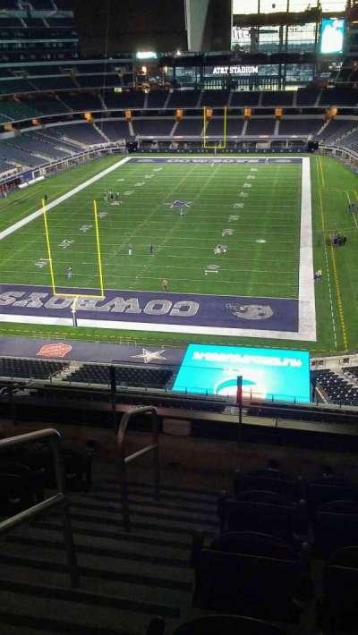 AT&T Stadium, Abschnitt: 345, Reihe: 5