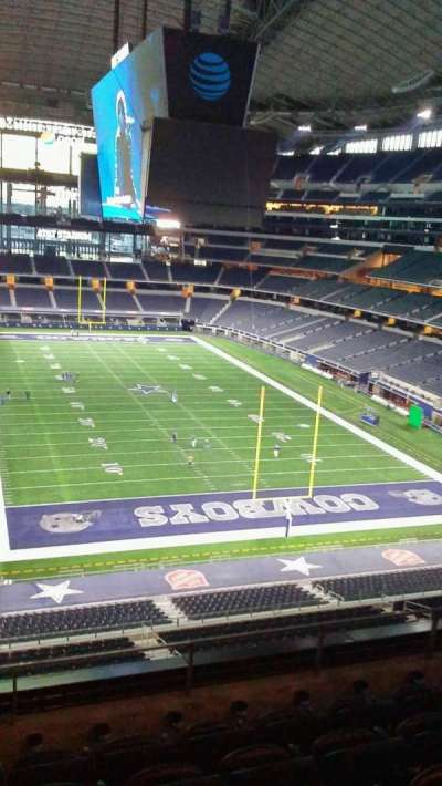 AT&T Stadium, Abschnitt: 350, Reihe: 5