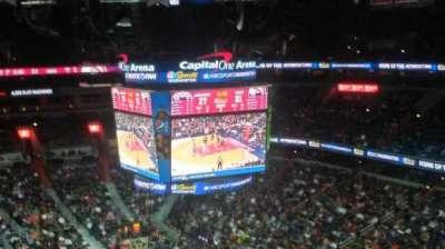 Capital One Arena, Abschnitt: 406, Reihe: F, Platz: 8