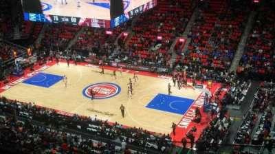 Little Caesars Arena, Abschnitt: 209, Reihe: 3, Platz: 10