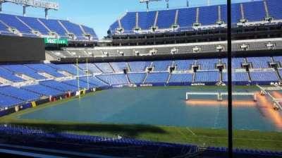 M&T Bank Stadium, Abschnitt: Press Box