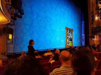 Walter Kerr Theatre, Abschnitt: Orchestra, Reihe: K, Platz: 17