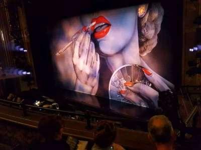 Nederlander Theatre, Abschnitt: Mezzanine, Reihe: C, Platz: 24