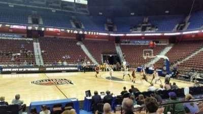 Mohegan Sun Arena, Abschnitt: 25, Reihe: I, Platz: 5
