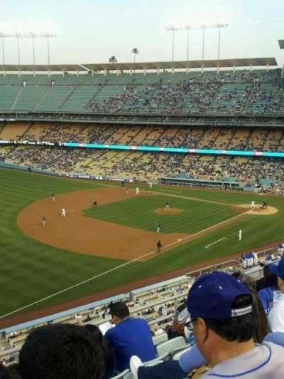 Dodger Stadium, Abschnitt: 35RS, Reihe: F, Platz: 22