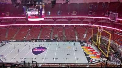 Honda Center, Abschnitt: 432, Reihe: M, Platz: 8