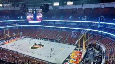 Honda Center, Abschnitt: 429, Reihe: M, Platz: 8