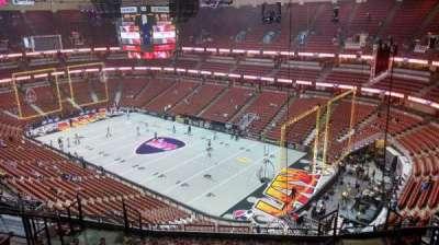 Honda Center, Abschnitt: 428, Reihe: M, Platz: 8
