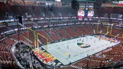 Honda Center, Abschnitt: 418, Reihe: M, Platz: 8